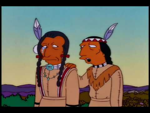 Simpsons - Crying Indian