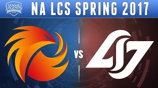 highlights na lcs spring 2017 p1 vs clg full series huhi dropby snipe