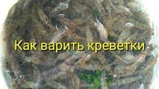 Как варить креветок / How to cook shrimp