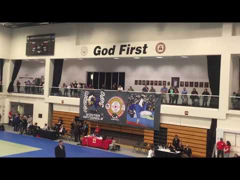 Bearj Bedrosian (Glendale Judo Academy) - First Place - United States Judo Winter Nationals 2017