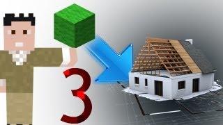 Tek Block'tan Ev! - Minecraft İcatları