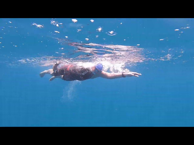 1 min of 374 minutes (5 hours 54 minutes) - 16KM Perhentian Island Ultra Marathon Challenge.