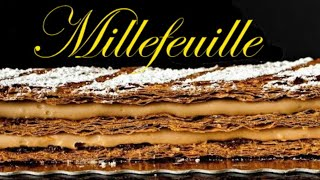 Praline Chocolate Millefeuille