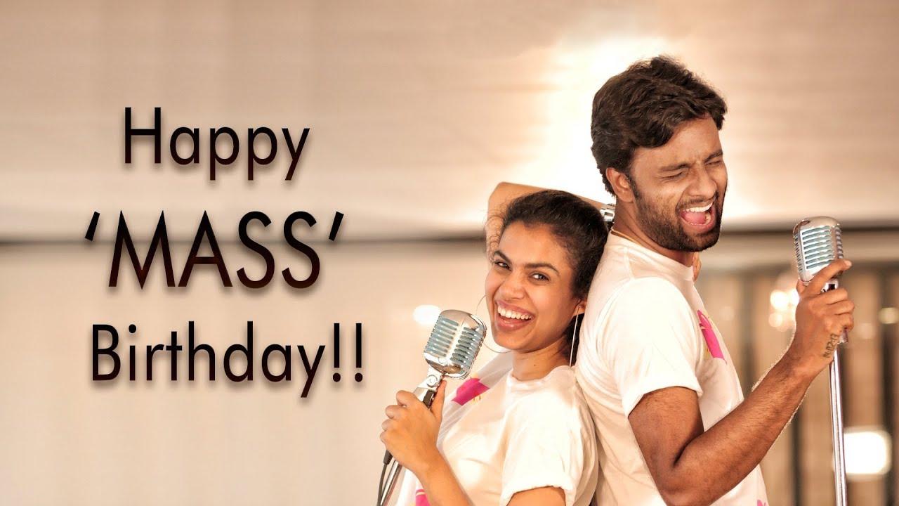 Happy Mass Birthday Full Song Hemachandra Sravana Bhargavi Directed By Rohit Bommakanti Youtube