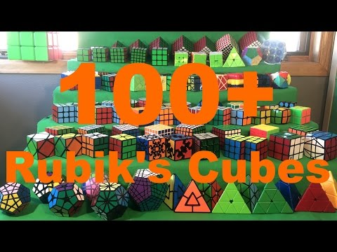 [NEW] Rubik's Cube Collection 2017 | 100+ Cubes