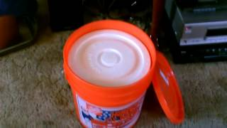 "How To Make A Simple ""hard-sided"" Ice Chest - ""5 Gallon Bucket"" Style! W/styro-liner - Cheap & Easy"
