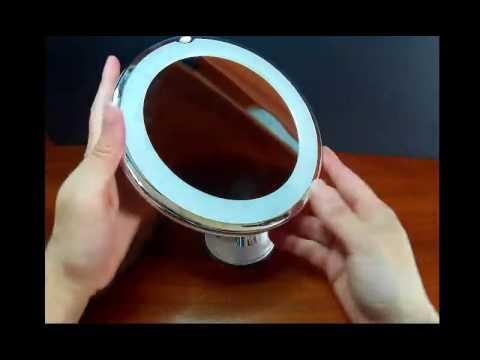 Kedsum 6 8 10x Magnifying Led Lighted, Kedsum Flexible Gooseneck 6 8 10x Magnifying Led Lighted Makeup Mirror