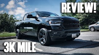 3,000 Mile Review! 2019 RAM 1500 5.7L HEMI Truck (Laramie, Limited, Big Horn, Lone Star)