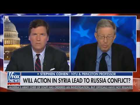Tucker Carlson Tonight - Will Action In Syria Lead To Russia Conflict?