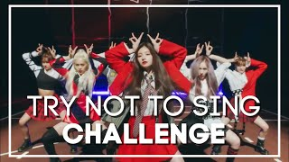 KPOP TRY NOT TO SING OR RAP CHALLENGE   VERY HARD