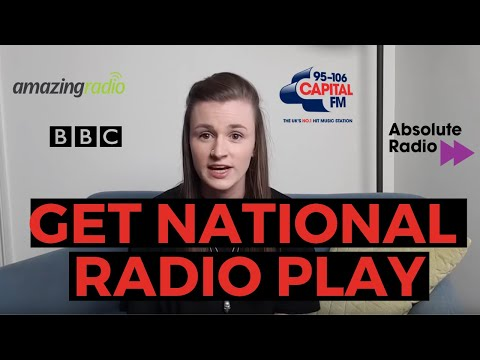HOW TO GET PLAYED ON NATIONAL RADIO