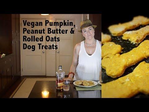 DDD Ep. #27 - Vegan Pumpkin, Peanut Butter & Rolled Oats Dog Treats