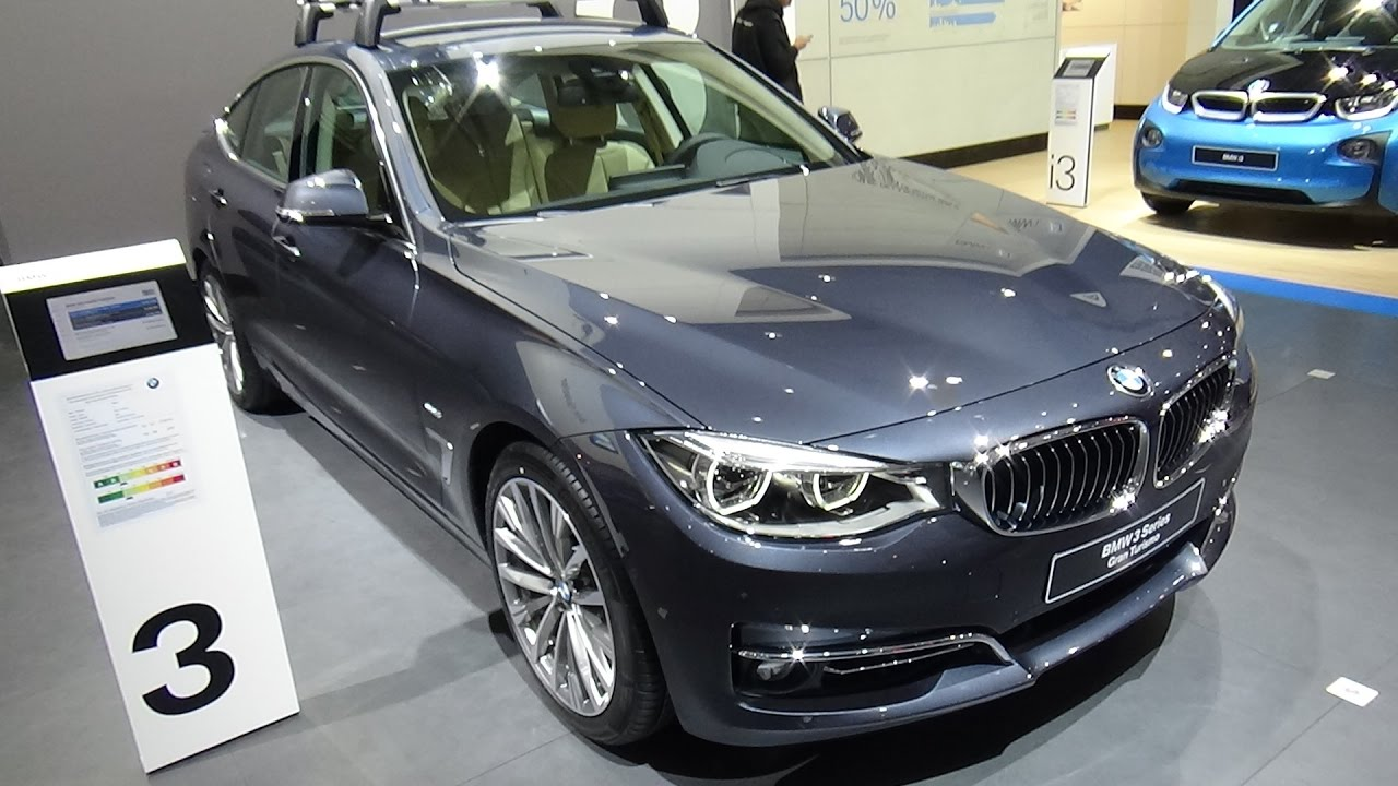 2017 Bmw 320i Gran Turismo Luxury Exterior And Interior Auto Show Brussels