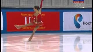 Evgenia MEDVEDEVA 2014 SP Russian Nationals