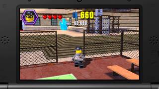 Gameplay - LEGO City Undercover: The Chase Begins (Exploring Prison & Lost Parrot!)