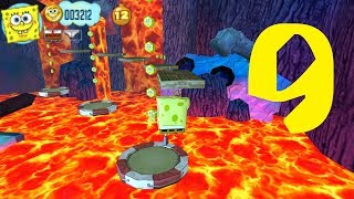 SpongeBob's Truth or Square (PSP) [4K]  Part 9 - Level 9 [24 Hours Of Fun At The Krusty Krab]