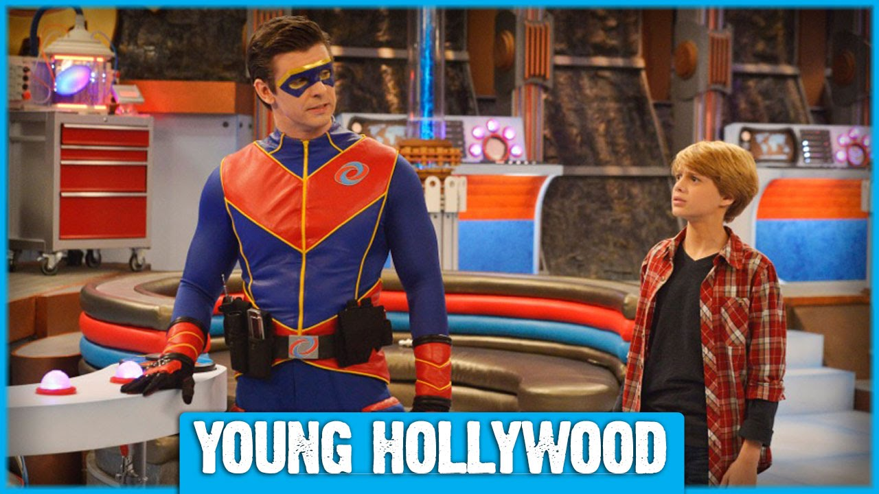 Henry Danger Set Tour Blowing Bubbles And Tom Cruise