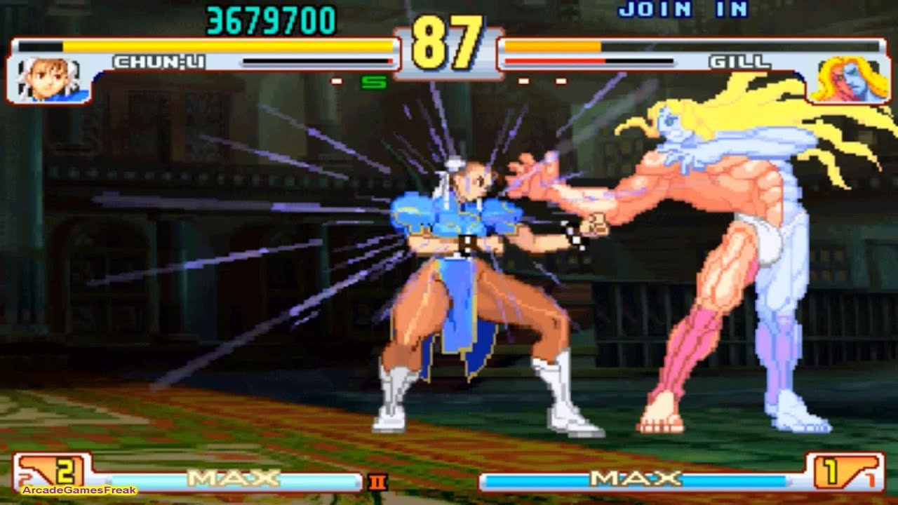 Street Fighter III Third Strike Chun Li Gameplay ...
