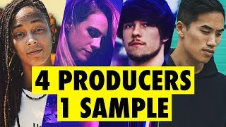 4 PRODUCERS FLIP THE SAME SAMPLE feat. Virtual Riot, Bad Snacks, Sarah the Illstrumentalist MP3