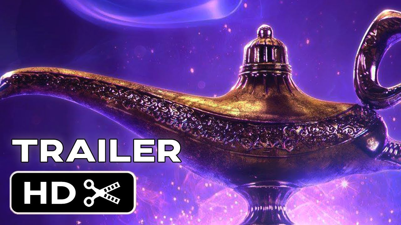 Aladdin (2019) - Teaser Trailer - Will Smith, Naomi Scott Disney Musical Movie