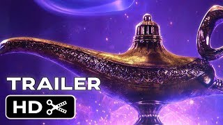 Aladdin (2019) - Teaser Trailer - Will Smith, Naomi Scott Disney Musical Movie
