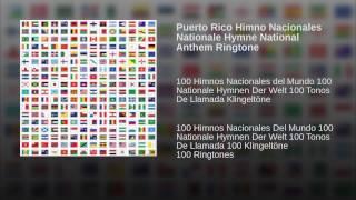Puerto Rico Himno Nacionales Nationale Hymne National Anthem Ringtone