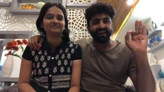Dhee 10 Sekhar Master With his Wife On Fb Live
