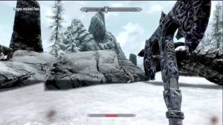 Skyrim: Defeating Krosis as a Low Level Gameplay/Tutorial