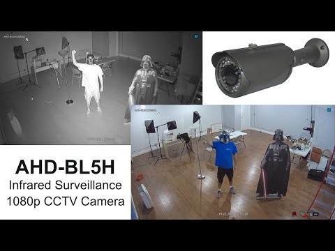 1080p HD CCTV Camera Infrared Video Surveillance