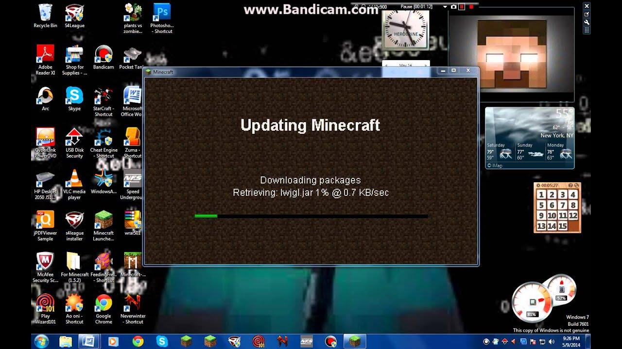 Скачать майнкрафт лаунчер на windows 7