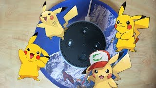I Gave my Alexa a Pikachu Voice and it's funny...