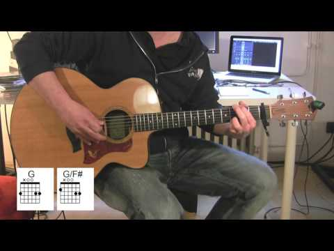 """Somebody To Love"" Acoustic Guitar, Queen, chords, original vocals"
