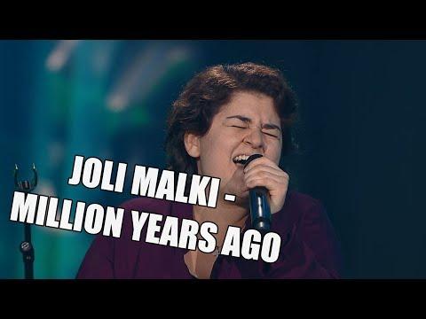 Joli Malki – Million Years Ago | The Voice of Finland | Nelonen