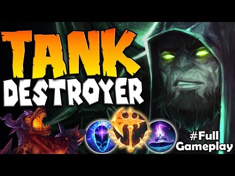 THE TANK DESTROYER   UNSTOPPABLE YORICK   Conqueror Yorick vs Nasus TOP RANKED SEASON 8 Gameplay