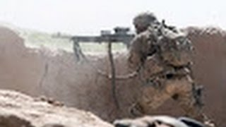 Зона АТО Эксклюзив Бой Ополченцы бьют из пулемета 19 11 Донецк War in Ukraine 2 1