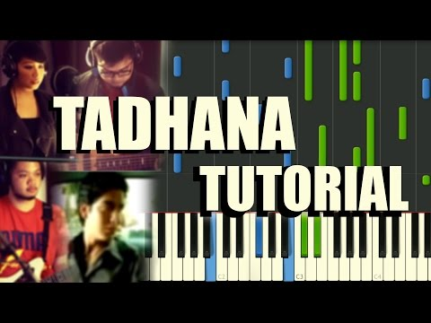 TADHANA - PIANO TUTORIAL - UP DHARMA DOWN