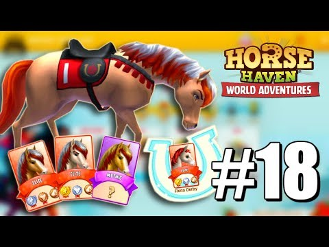 KENTUCKY DERBY #18  Horse Haven World Adventures (Let's Play)