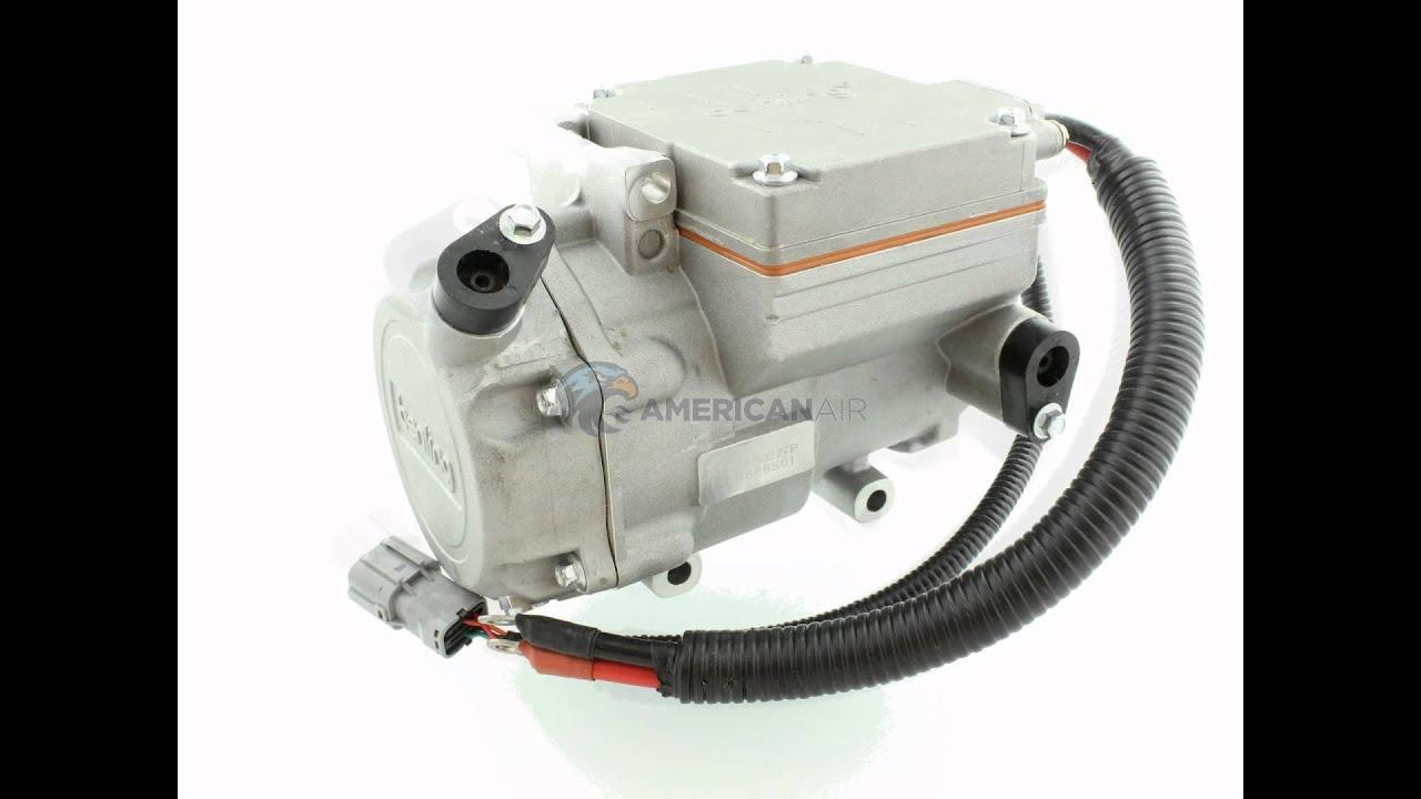 compresor para aire acondicionado m vil el ctrico 12 y 24