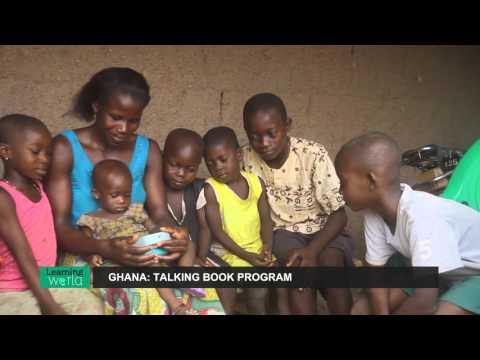 2015 WISE Award Winner: Talking Book Program from Ghana