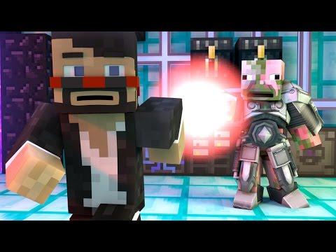 POWER SUIT FAIL (Minecraft Animation)