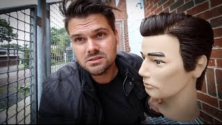 Business Haircut Tutorial for Men | Slicked Back Side Part Mens Hair Style | MATT BECK VLOG 59