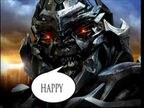 Happy Birthday To Oistein featuring Megatron by THomas YouTube