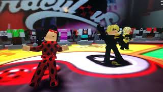 Lady bug and cat noir in ROBLOX