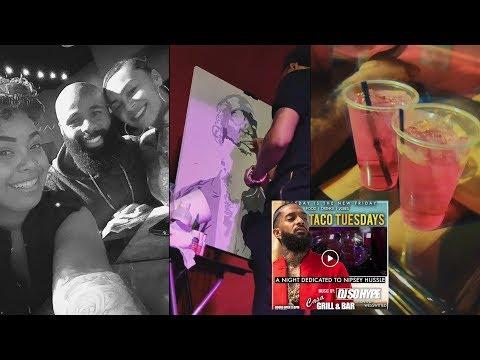 RIP Nipsey Hussle | Vegas Nights | Hookah Lounge 🥃🎶