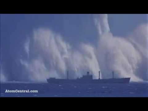 ACTUAL FOOTAGE OF KOREAN NUCLEAR TEST (May 25, 2009)Nükleer bomba denemesi