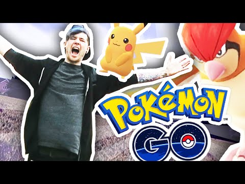 I GOT LOST PLAYING POKEMON GO!!