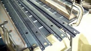 Metal Fabrication CJ3B Welder Jeep Rear Floor part 3