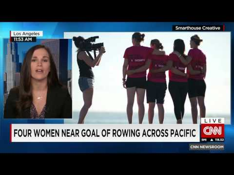 Epic Journey: 4 women rowing across the Pacific are now on the home stretch
