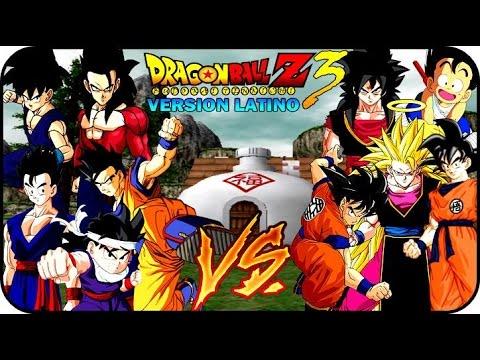 DRAGON BALL Z BUDOKAI TENKAICHI 3 VERSION LATINO GAMEPLAY GOKU VS GOHAN
