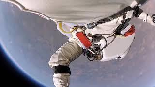 Nhảy dù từ không gian, tầng bình lưu khí quyển, xuống trái đất